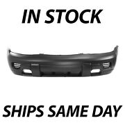 Primered - Front Bumper Cover Replacement For 2002-2008 Chevy Trailblazer Suv