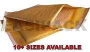 Mp Bubble Lined Envelopes Mailers Mailing Padded Bags All Sizes Gold