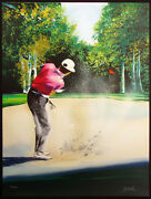 Victor Spahn Swing I Hand Signed And Numbered Fine Art Lithograph Golfing Sports