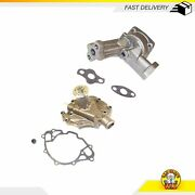 Water Oil Pump Fits 86-88 Ford Grand Marquis Lincoln Town Car 5.0l V8 Ohv 16v