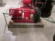 Bell And Gossett Motor And Pump 4e 10.375 Bf 20hp 380gpm Head 100ft Used