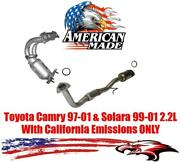 Converters Made In Usa For Toyota Camry 2.2l 1997-2000 With California Emissions