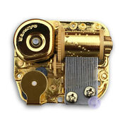 Play Rock A Bye Baby Golden Plated Sankyo Musical Movement For Diy Music Boxes