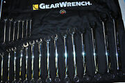 Kd Gearwrench 81916 22pc. Long Pattern Combination Wrench Set Metric 6 To 32mm