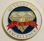 Nsa National Security Agency 60th Anniversary Coin 60 Years Of Excellence