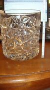 And Co Crystal Vase Ice Bucket Or Deep Dessert Bowl