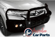 Painted Protection Bull Bar Suitable For Mitsubishi Pajero Sport Qe Genuine 2016