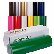Greenstar Adhesive Sign Vinyl 5 Rolls X 12 X 5yd For 50 Craft Stickers Decal