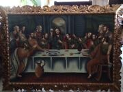 Last Supper Hand Painted Peruvian Painting