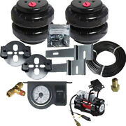 Toyota Tacoma Tow Assist Air Over Leaf Under Frame Airbag Suspension Red Comp