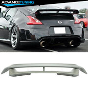 Fits 09-20 Nissan 370z Nis Style Trunk Spoiler Wing All Color - Painted Abs