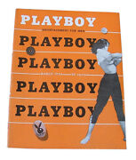 Playboy - March 1954 Back Issue Cgc Graded And Certified