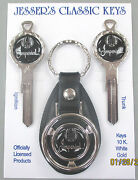Black W/silver Imperial Eagle Deluxe Classic White Gold Key Set 1953 1954 1955