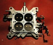 Holley 4781 850 Cfm Double Pumper Base Plate Assembly Complete-new-perfect