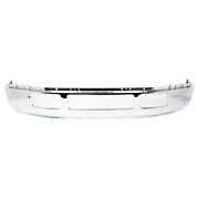 New Chrome - Steel Bumper For 2005-2007 Ford F250 F350 Super Duty Without Flares