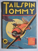 Vintage Collectible Comic Book Tailspin Tommy Comics On Parade 23