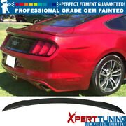 15-20 Ford Mustang Gt Factory Painted Abs Trunk Spoiler - Oem Painted Color
