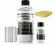 Solution Finish Black Plastic And Bumper Restorer 12 Oz. Free 1 Oz Towel And Pad