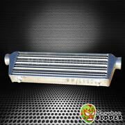 27and039and039 X 7and039and039 X2.5and039and039 Polished Aluminum Tube And Fin Fmic Front Mount Intercooler