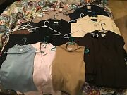 Huge Mixed Lot 18 Ps. Womenand039s Work Suits-max Studio-gap-ann Taylor