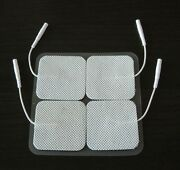 8 Square Replacement Electrode Pads 2 X 2 Inch For Intensity Twin Stim Iii Tens