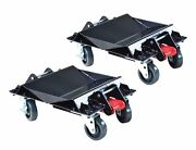 Atd Tools 7469 - Heavy-duty Convertible Car Dolly Set One Pair - Brand New