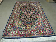 4and039 X 7and039 Antique Fine Hand Made Pakistan Oriental Wool Rug Hand Knotted Carpet