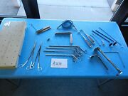 Pilling R. Wolf Surgical Carlens Mediastinoscope Instrument Set With Case