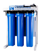 Premier Commercial Reverse Osmosis Water Filter System 600 Gpd Booster Pump Usa