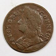 1787 31.1-gg.1 R3 Connecticut Colonial Copper Coin