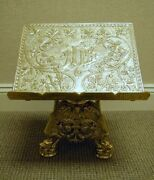 +world Class Ornate Missal Stand Book Stand + Chalice