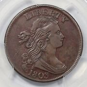 1803 S-258 Pcgs Vf 30 Small Date Lg Frac Draped Bust Large Cent Coin 1c