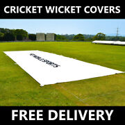 Flat Sheet Cricket Pitch Covers [5 Sizes] | Pvc Wicket Sheets Pitch Protection
