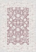 Hand Finished Loom Antique Oushak Wool Oriental Area Rug 2and03962and039and039x4and03959andrsquo/5325powder
