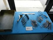 V. Mueller Surgical C-section Instrument Set W/tray