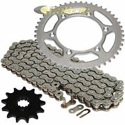 Drive Chain And Sprocket Kit For Suzuki Rm250 1989-1997 2001-2003