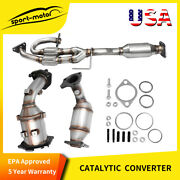 For 2003 2004-2007 Nissan Murano Catalytic Converter Set 3.5l Direct-fit Epa
