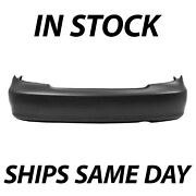 New Primered- Rear Bumper Cover Replacement For 2002-2006 Toyota Camry Usa 02-06