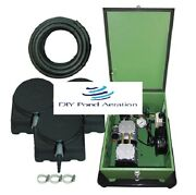 New 1/2 Hp Lake And Fish Pond Aerator System W/300and039 Wtd Hose And 3-weighted Diffuser