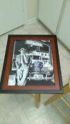 Michael Pena Actor Signed 11x14 Framed Movie Gangster Squad Photo