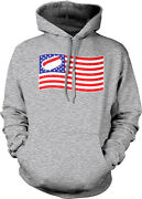 American Flag Hot Dog Usa Bbq Cookout Fourth July Labor Day Us Hoodie Sweatshirt