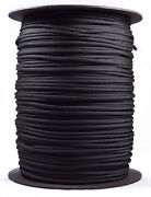 Tan And Black Stripes - 550 Paracord Rope 7 Strand Cord - 1000 Foot Spool
