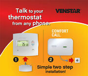 Discount Hvacvn-t1700/vn-acc0433- Venstar 1-day Prog Thermostat And Comfort Call