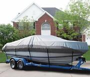 Great Boat Cover Fits Tracker 16 Super Guide Side Console Ptm O/b 2001-2002