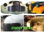 A Bil-ch-14 Grille 1940-1940 Chev Base Chevys Of The Fortyand039s Polished