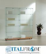 Exhibition Showcase Display Cabinet H180x157x40 Cm Window Shop Theca Italfrom
