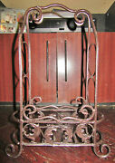 2-bottle Metal Wine Rack, Black And Copper Crinkle-style Paint, Upright/horizontal