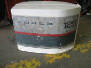 Marine Boat Chrysler/force 125hp Hood Cover Engine Cowling, 1985-89