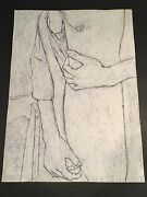 George Segal - Gs4- Hand Signed Limited Edition Original Lithograph Made In 1978