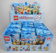 Lego 71005 The Simpsons Series 1 Sealed Box Of 60 Minifigures Unopened Bags New